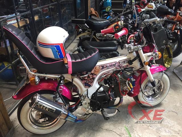 Những chiếc minibike đẹp long lanh của dân chơi Sài Gòn - Ảnh 4.