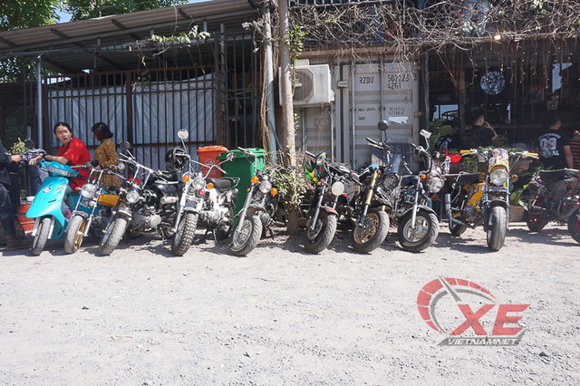 Những chiếc minibike đẹp long lanh của dân chơi Sài Gòn - Ảnh 5.