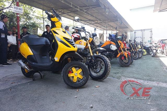 Những chiếc minibike đẹp long lanh của dân chơi Sài Gòn - Ảnh 7.