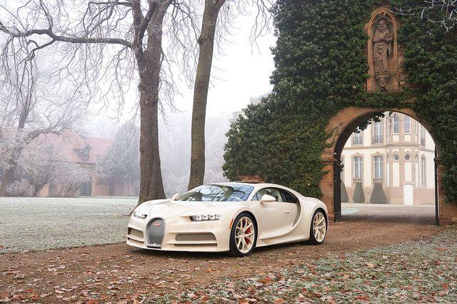 Siêu phẩm Bugatti Chiron độc nhất vô nhị trao tay đại gia bất động sản sau 3 năm hoàn thiện - Ảnh 1.