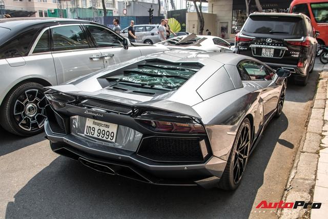 Lamborghini Aventador LP700-4 biển số tứ quý Lào của đại gia ngành may mặc bất ngờ xuất hiện tại Sài Gòn - Ảnh 2.