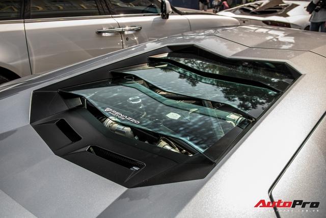 Lamborghini Aventador LP700-4 biển số tứ quý Lào của đại gia ngành may mặc bất ngờ xuất hiện tại Sài Gòn - Ảnh 11.