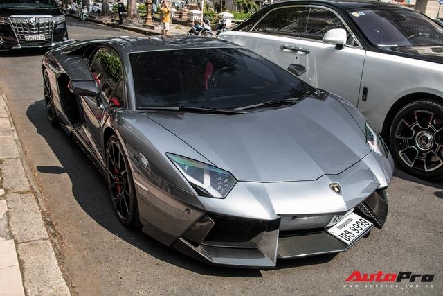 Lamborghini Aventador LP700-4 biển số tứ quý Lào của đại gia ngành may mặc bất ngờ xuất hiện tại Sài Gòn - Ảnh 14.