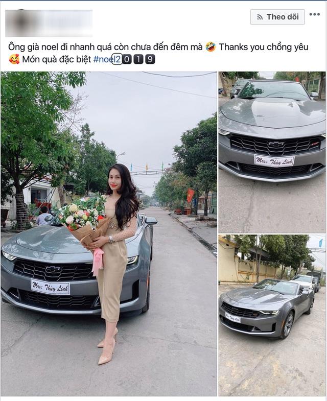 'Soái ca' Quảng Ninh tặng vợ chiếc Chevrolet Camaro RS Convertible độc nhất Việt Nam giá hơn 3 tỷ đồng - Ảnh 1.