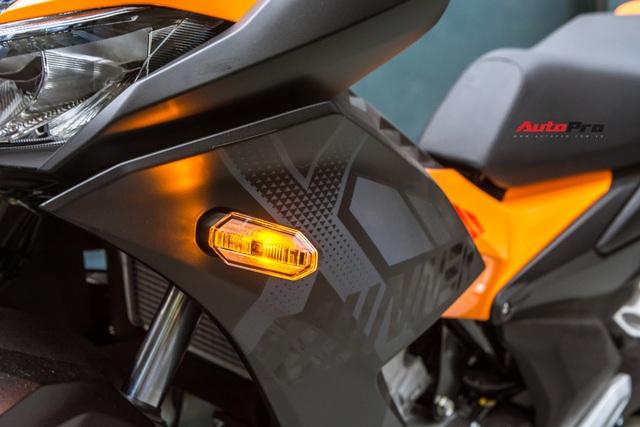 Chi tiết Honda Winner X màu mới vừa về đại lý - Đối thủ khó nhằn của Yamaha Exciter - Ảnh 6.