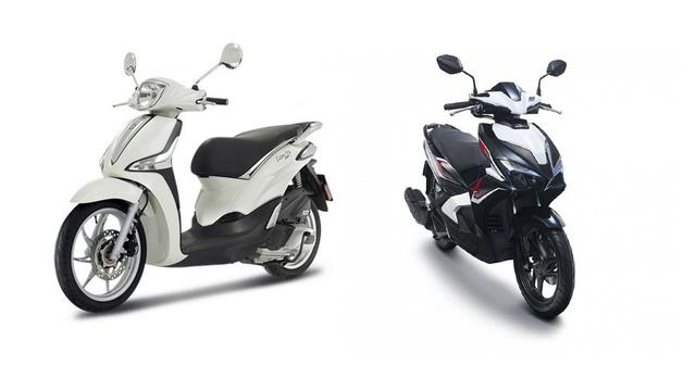Cầm 60 triệu sắm xe Tết, Honda AirBlade 2020 hay Piaggio Liberty - Ảnh 1.