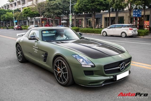 Ông Đặng Lê Nguyên Vũ bất ngờ tậu siêu xe Mercedes-AMG SLS GT Final Edition độc nhất Việt Nam từ nhà chồng Hà Tăng - Ảnh 6.
