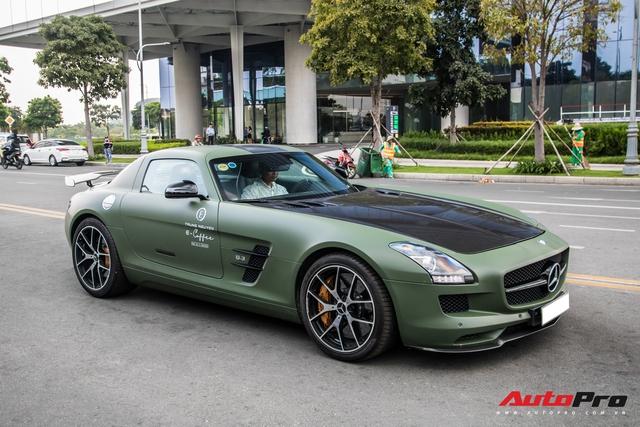 Ông Đặng Lê Nguyên Vũ bất ngờ tậu siêu xe Mercedes-AMG SLS GT Final Edition độc nhất Việt Nam từ nhà chồng Hà Tăng - Ảnh 1.