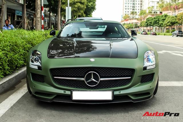 Ông Đặng Lê Nguyên Vũ bất ngờ tậu siêu xe Mercedes-AMG SLS GT Final Edition độc nhất Việt Nam từ nhà chồng Hà Tăng - Ảnh 2.