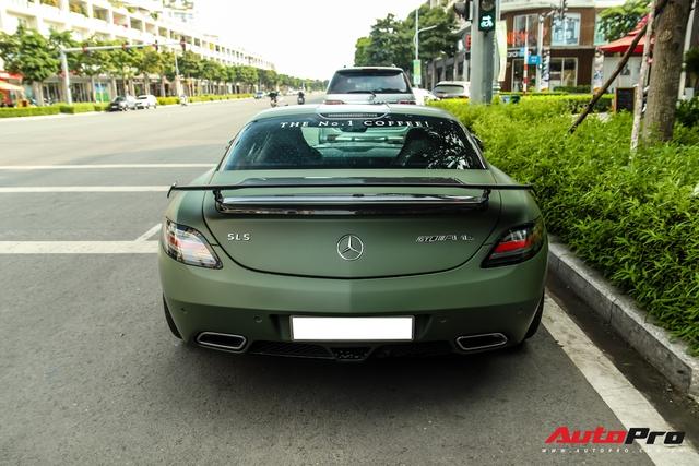 Ông Đặng Lê Nguyên Vũ bất ngờ tậu siêu xe Mercedes-AMG SLS GT Final Edition độc nhất Việt Nam từ nhà chồng Hà Tăng - Ảnh 3.