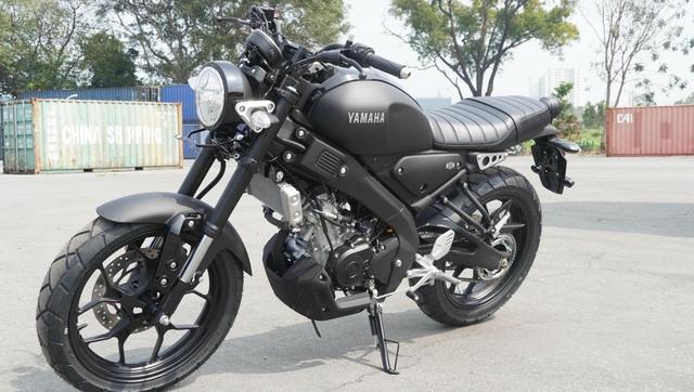 Yamaha XSR 155 chốt giá 88 triệu đồng tại Việt Nam: Kiểu dáng cổ điển, nhập khẩu Indonesia - Ảnh 1.