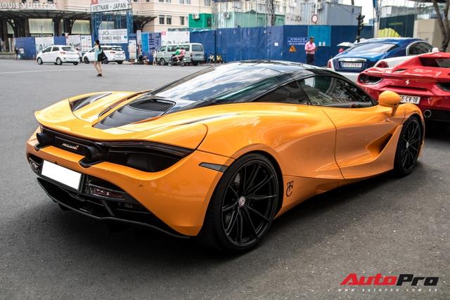 Cận cảnh hệ thống ống xả hàng thửa trị giá trăm triệu đồng trên chiếc McLaren 720S của Cường Đô-la - Ảnh 5.