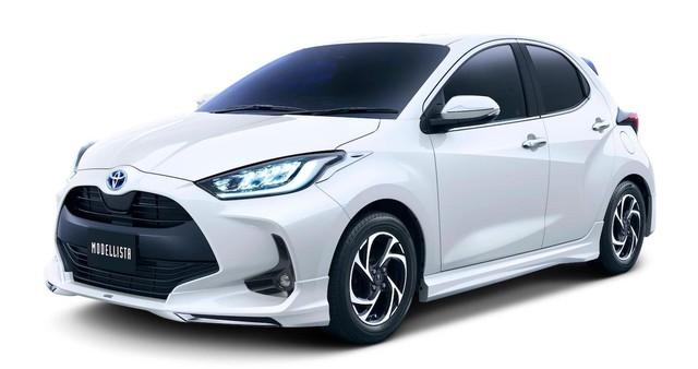 Toyota Yaris chuẩn bị được bổ sung kit TRD, Modellista - Ảnh 3.