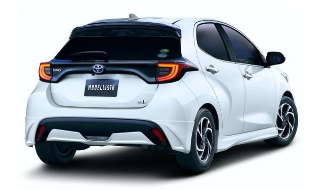 Toyota Yaris chuẩn bị được bổ sung kit TRD, Modellista - Ảnh 4.