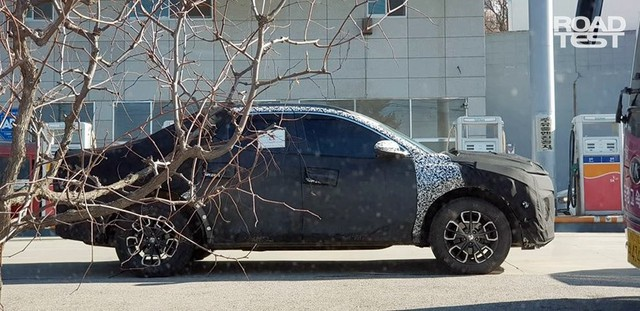 Bán tải Hyundai lộ thêm nhiều thông tin nóng - Ảnh 1.