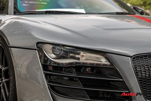 Audi R8 độ Prior Design độc nhất Việt Nam thoát xác, mức giá bán lại khiến nhiều người giật mình - Ảnh 4.