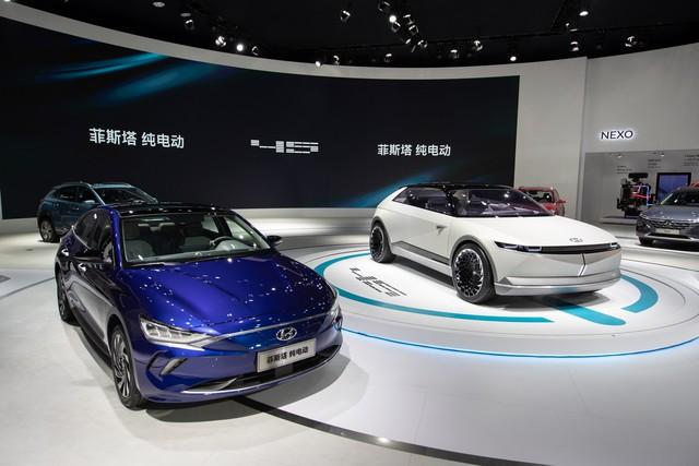 Hyundai âm thầm ra mắt xe điện mới tại Trung Quốc - Ảnh 1.