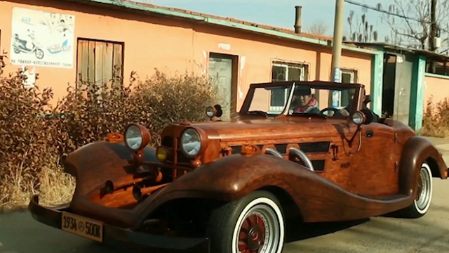 Ngắm loạt siêu xe bằng gỗ 'kịch độc'