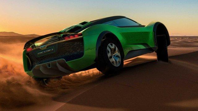 Tự tay cầm lái siêu xe địa hình chạy off-road nhanh như đường nhựa ra sao? - Ảnh 2.