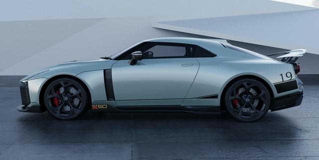 Không chỉ trang bị, giới siêu giàu còn có thể tuỳ biến thông số của Nissan GT-R50 - Ảnh 1.