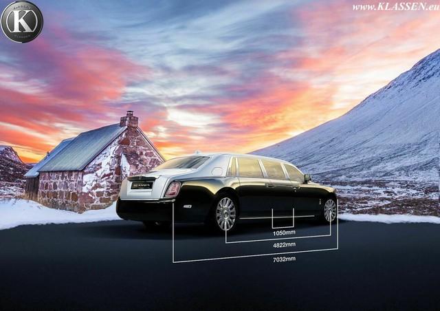 Hãng độ chào bán siêu phẩm limousine Rolls-Royce Phantom bọc thép siêu dài cho giới đại gia - Ảnh 3.