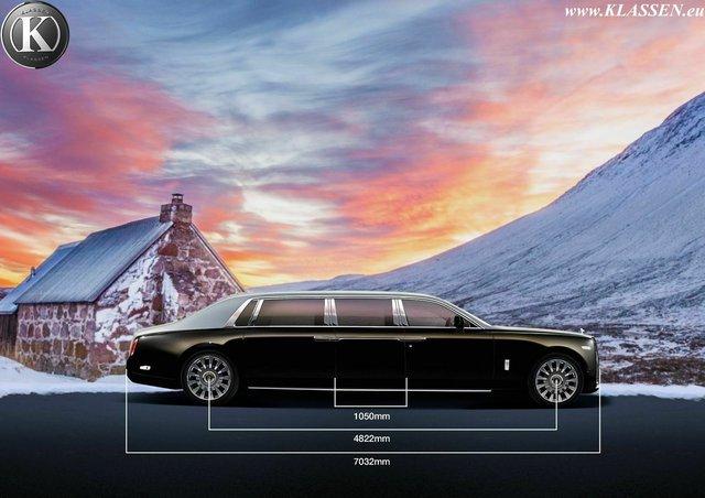 Hãng độ chào bán siêu phẩm limousine Rolls-Royce Phantom bọc thép siêu dài cho giới đại gia - Ảnh 2.