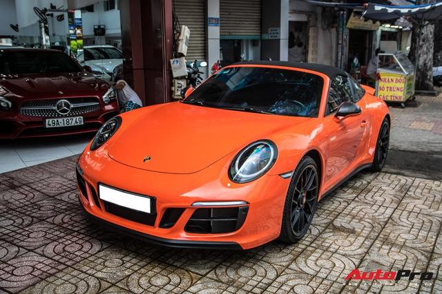 Cận cảnh lớp áo mới trên Porsche 911 Targa 4 GTS độc nhất Việt Nam - Ảnh 2.