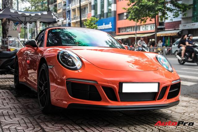 Cận cảnh lớp áo mới trên Porsche 911 Targa 4 GTS độc nhất Việt Nam - Ảnh 3.