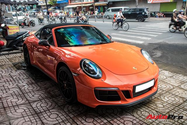 Cận cảnh lớp áo mới trên Porsche 911 Targa 4 GTS độc nhất Việt Nam - Ảnh 5.