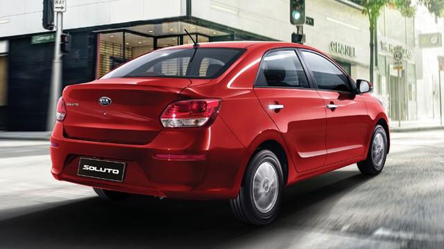 Ra mắt Kia Soluto giá rẻ cạnh tranh Toyota Vios - Ảnh 2.