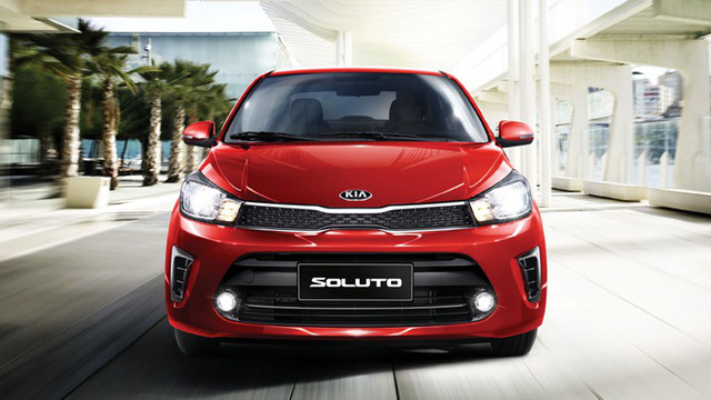 Ra mắt Kia Soluto giá rẻ cạnh tranh Toyota Vios - Ảnh 1.