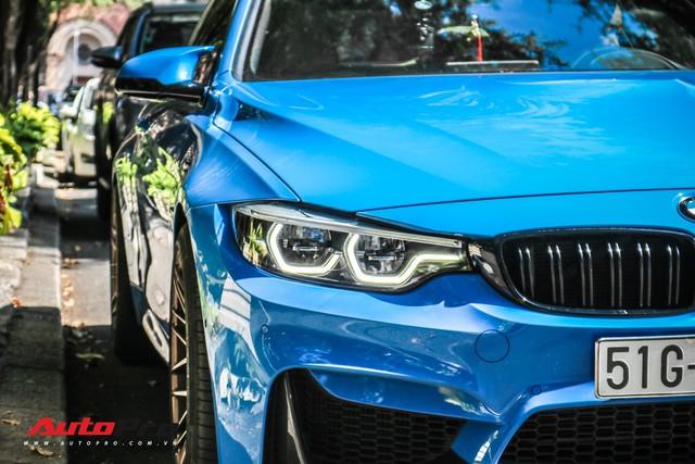 Chỉ với một chi tiết, chiếc BMW M4 của dân chơi Sài Gòn trở nên hầm hố hơn hẳn - Ảnh 6.