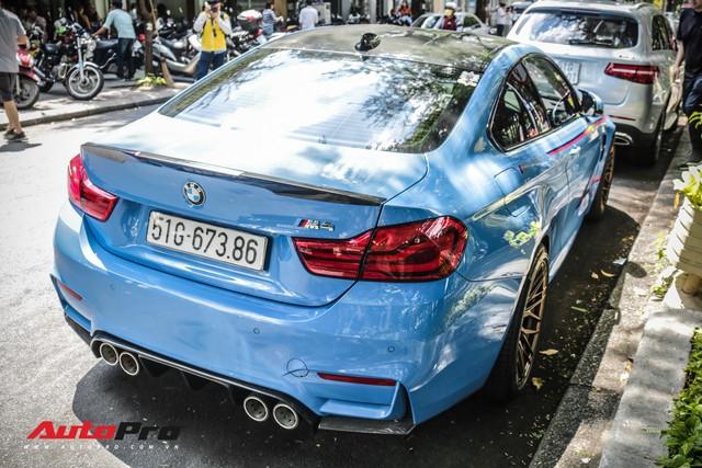 Chỉ với một chi tiết, chiếc BMW M4 của dân chơi Sài Gòn trở nên hầm hố hơn hẳn - Ảnh 9.