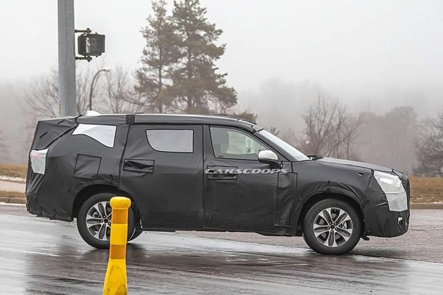 Cạnh tranh Ford Explorer, Toyota Highlander 2020 chạy thử cùng... Mazda CX-9 - Ảnh 3.