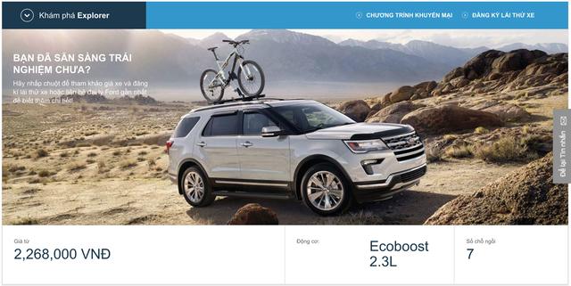 Ford Explorer 2019 bất ngờ tăng mạnh giá niêm yết tại Việt Nam nhưng giá bán lại giảm nhiệt - Ảnh 1.