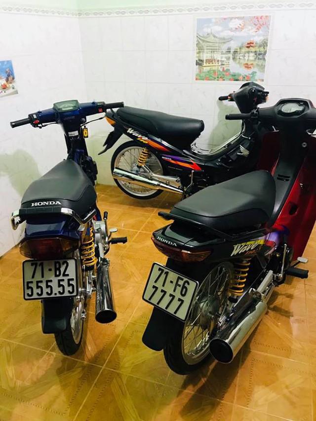 Đây là bộ sưu tập xe máy biển ngũ quý bạc tỷ của dân chơi Bến Tre và Đồng Nai nhưng loại xe mới gây chú ý - Ảnh 4.