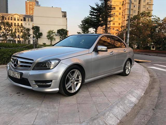 8 năm tuổi, Mercedes-Benz C300 AMG chỉ đắt hơn Toyota Vios mới 90 triệu đồng - Ảnh 7.