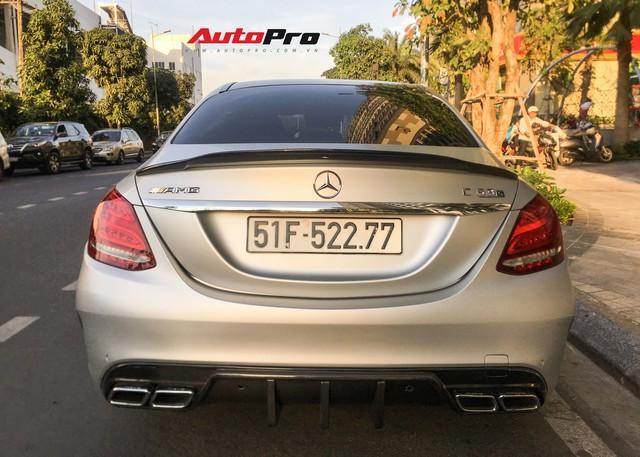 Đại gia Sài Gòn thích mua lại xe của Cường Đô-la tân trang Mercedes-AMG C63S độc nhất Việt Nam - Ảnh 5.