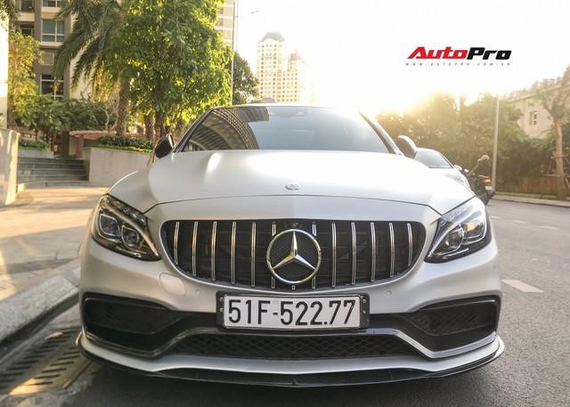 Đại gia Sài Gòn thích mua lại xe của Cường Đô-la tân trang Mercedes-AMG C63S độc nhất Việt Nam - Ảnh 2.