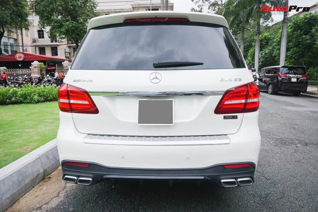 Với một chi tiết khác biệt, chiếc Mercedes-AMG GLS 63 giá 12 tỷ đồng của đại gia Sài Gòn trở nên độc nhất vô nhị tại Việt Nam - Ảnh 5.