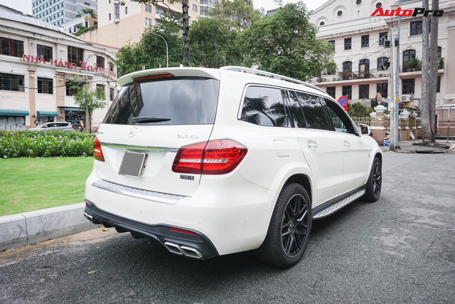 Với một chi tiết khác biệt, chiếc Mercedes-AMG GLS 63 giá 12 tỷ đồng của đại gia Sài Gòn trở nên độc nhất vô nhị tại Việt Nam - Ảnh 3.