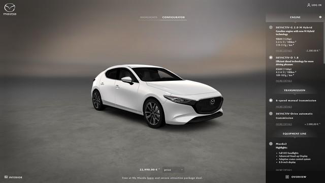 Mazda bắt đầu cho phép khách hàng tự cấu hình, đặt xe Mazda3 2019 - Ảnh 4.