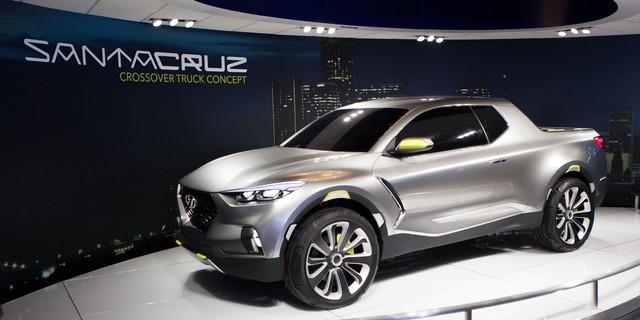 Hyundai bất ngờ tiết lộ thông tin về mẫu bán tải đối đầu Ford Ranger  - Ảnh 1.