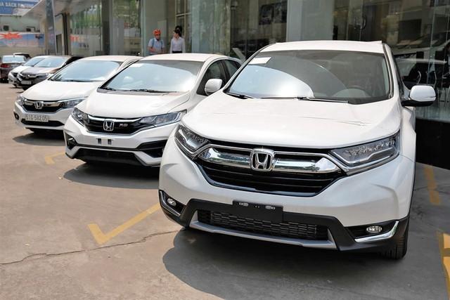 Honda CR-V 'cân team' với hơn 2.800 xe bán ra đầu năm, xác lập kỷ lục mới chưa từng có trong lịch sử - Ảnh 1.
