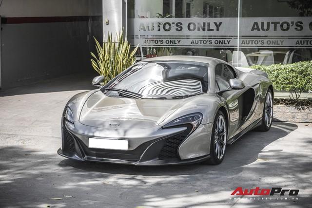 Một trong 50 chiếc McLaren 650S Spider MSO siêu hiếm trên thế giới thuộc bộ sưu tập trong hầm siêu xe triệu đô của đại gia Sài Gòn - Ảnh 4.