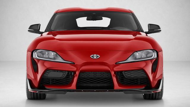 Bài toán khó cho chủ xe Toyota Supra mới: Lắp biển xe vào đâu bây giờ?? - Ảnh 1.