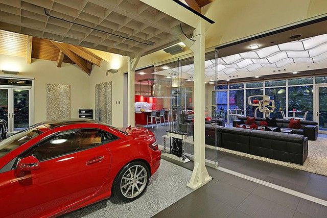 Những garage xe đáng mơ ước nhất thế giới - Ảnh 1.