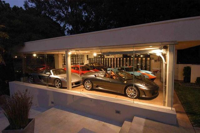 Những garage xe đáng mơ ước nhất thế giới - Ảnh 8.