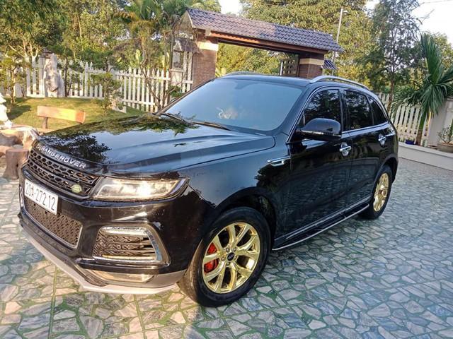 Zotye T600s 2017 mạ vàng, dán logo DISCOVERY khắp thân xe rao bán hơn 500 triệu đồng - Ảnh 6.