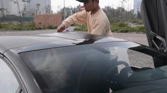 Hoá ra đây là cách đại gia Việt mở mui Lamborghini Aventador Roadster: dễ nhưng sẽ rơi vào thế khó khi gặp tình huống này